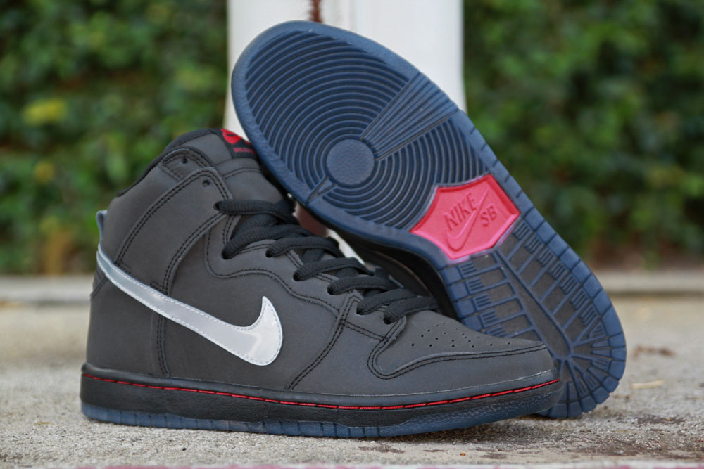 ... WearTesters; Nike SB Dunk High Premium Reflective | Sole Collector ...