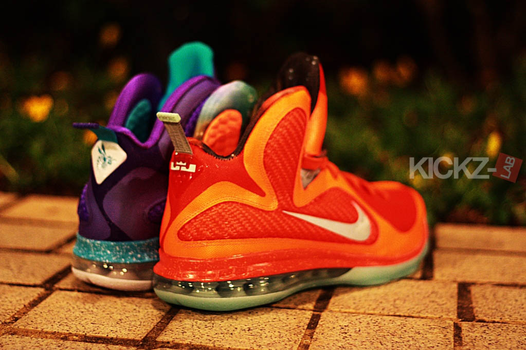 low priced 35dc3 fd9e6 Nike LeBron 9 - Summit Lake Hornets   All-Star (1)