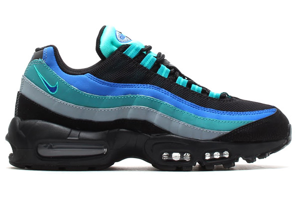 Hyper Cobalt and Catalina Light Up a New Air Max 95 Sole  Sole