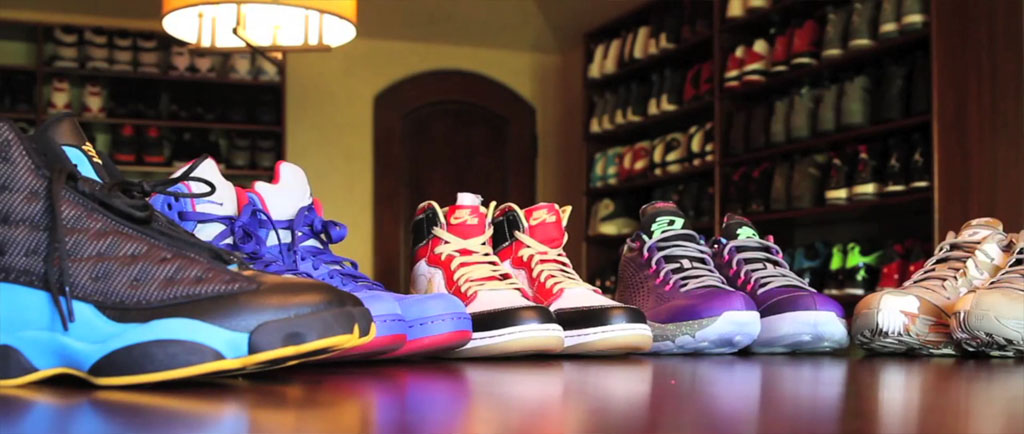Chris Paul's Sneaker Closet (2)
