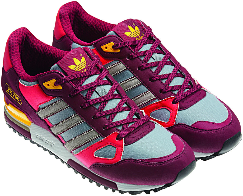 adidas Originals ZX 750 Purple Pink Yellow Spring Summer 2013 Q23661 (2)