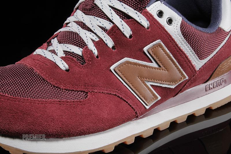 new balance 574 boys Bordeaux