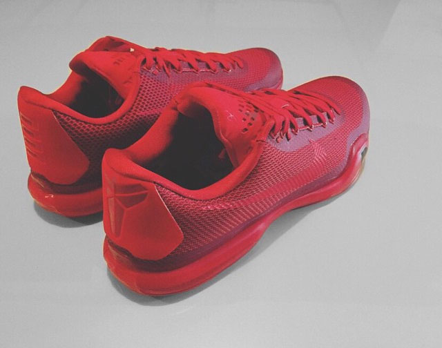 100% authentic 49dc8 6fcdf Nike iD Kobe 10 Cliche Red