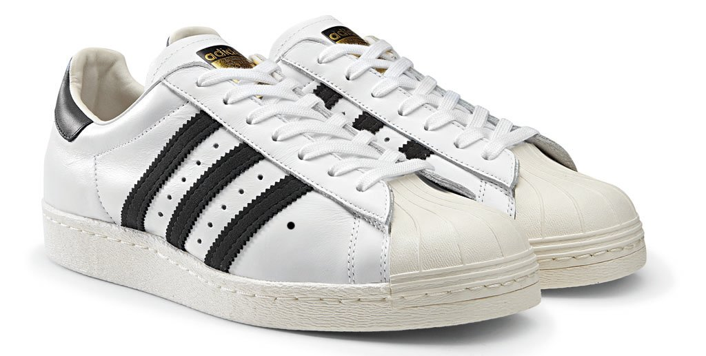 adidas Originals Superstar 80s - Spring/Summer 2014 - White/Black (1)
