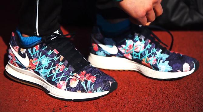 Nike Brings the Floral Look to Pegasus