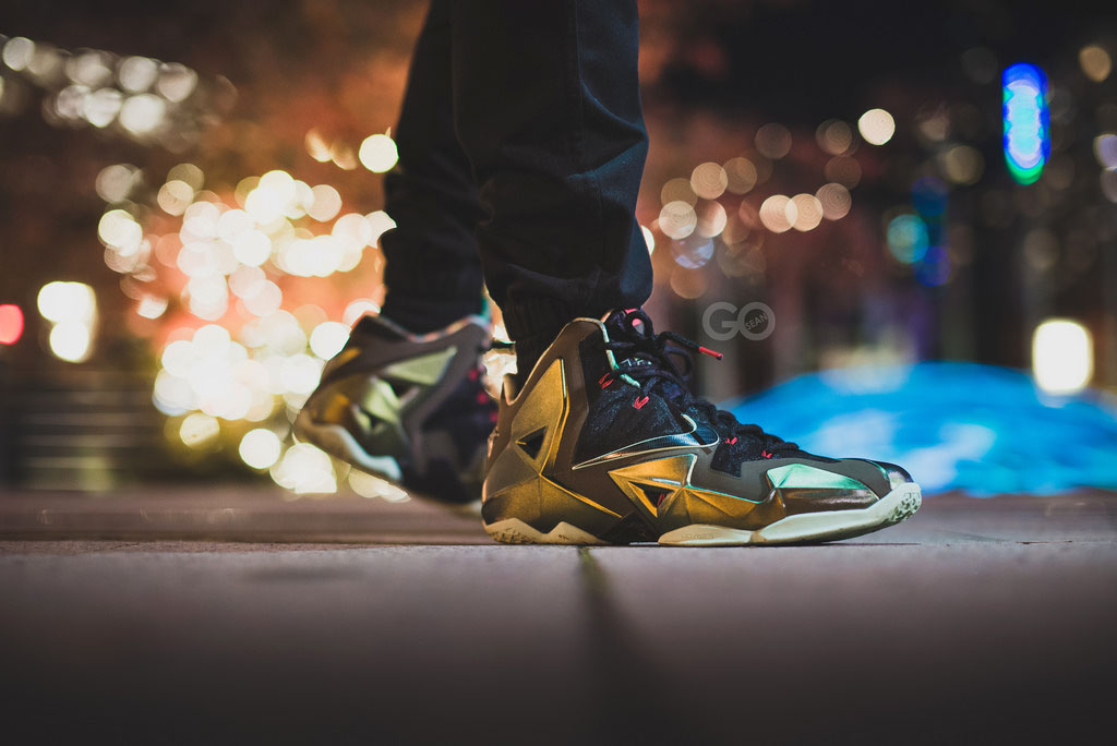 sgo8 in the 'King's Pride' Nike LeBron XI 11