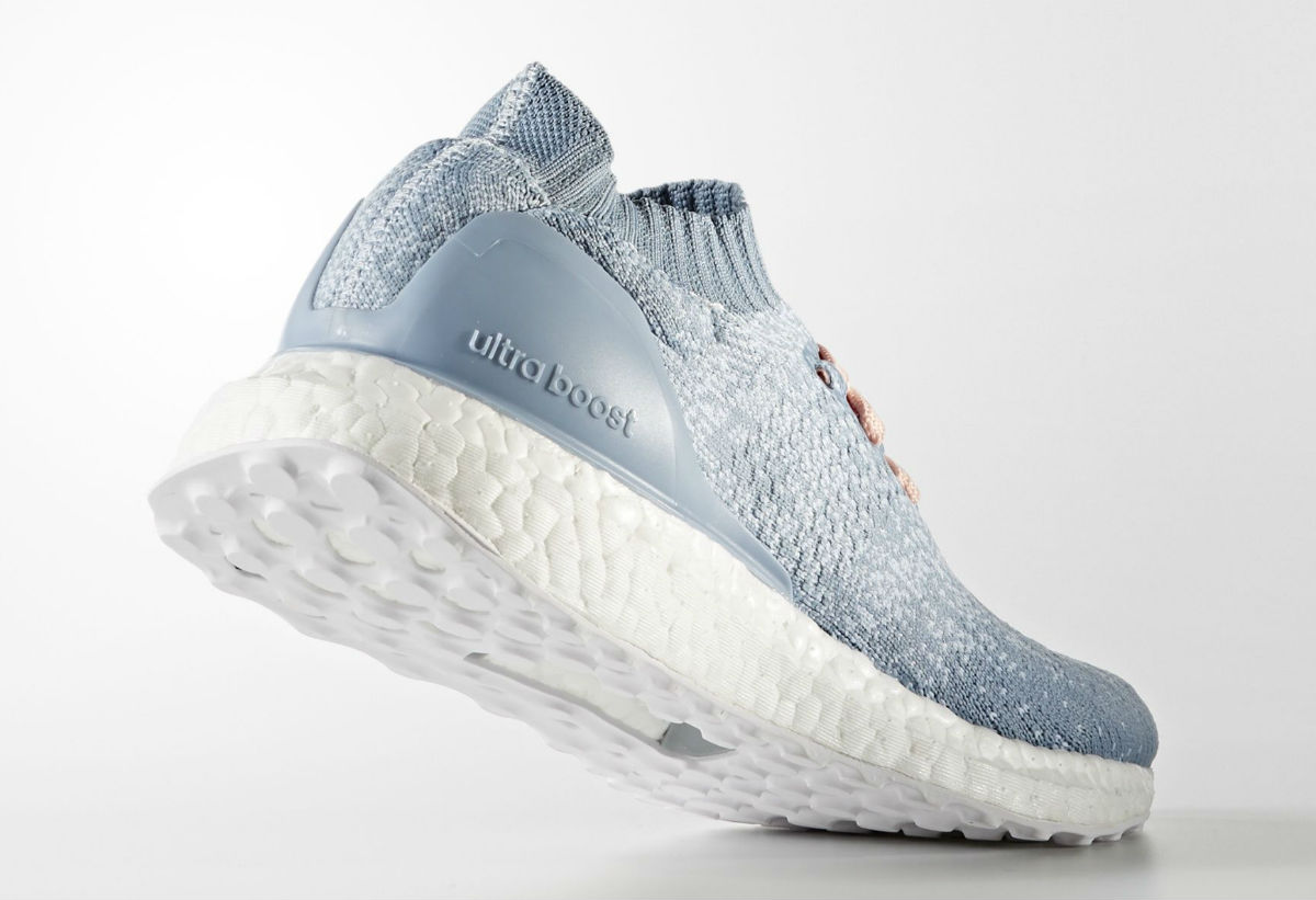4612c4ab33a37 Adidas Ultra Boost Uncaged Women s Light Blue Lateral BB3049