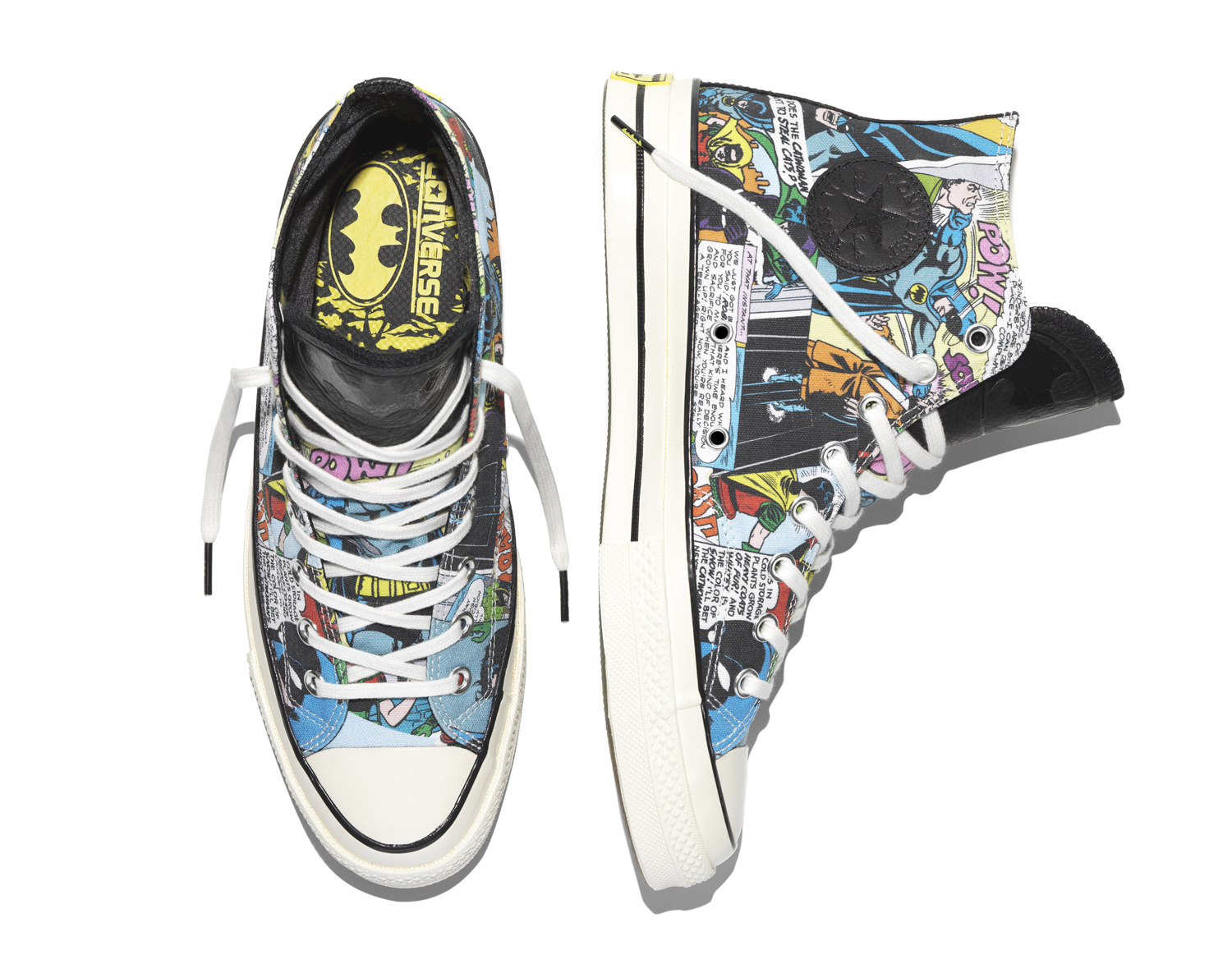 Batman Converse Sneakers Top