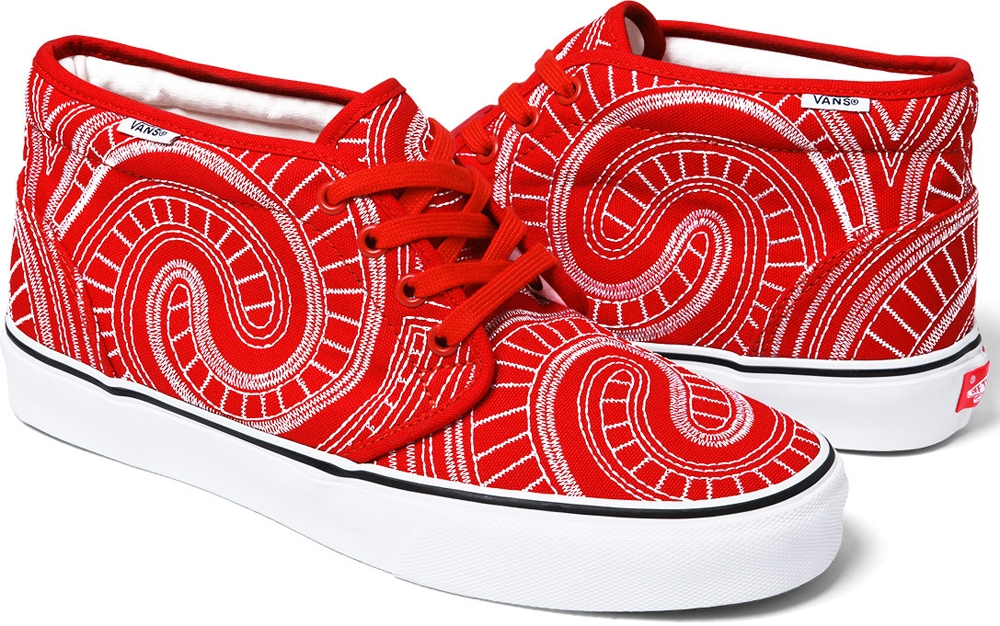 Vans Uptown Chukka Red/White