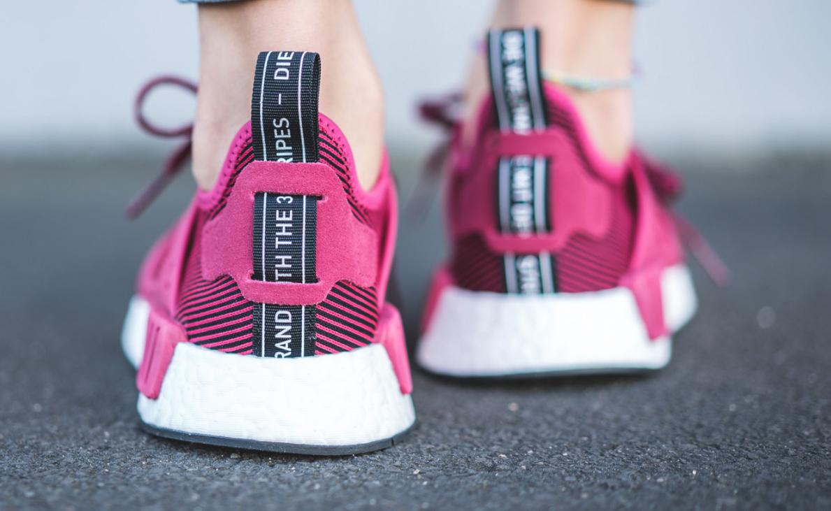 Pink Adidas NMD XR1 Heel