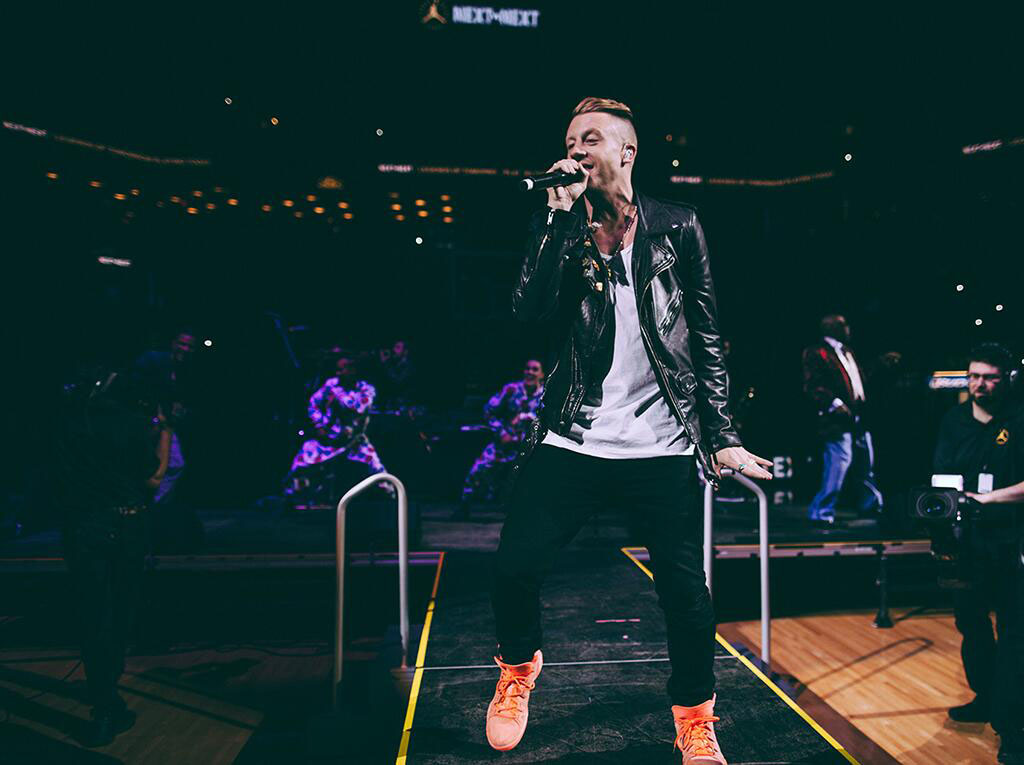 Macklemore Designs the 'Northwest King Salmon' Jordan Melo M10