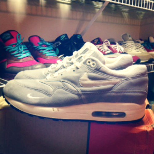 Spotlight // Pickups of the Week 4.14.13 - Nike Air Max 1 Grey Mini Swoosh by singledout13