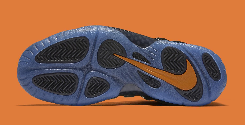 Halloween Nike Foamposite 846077-002 Sole