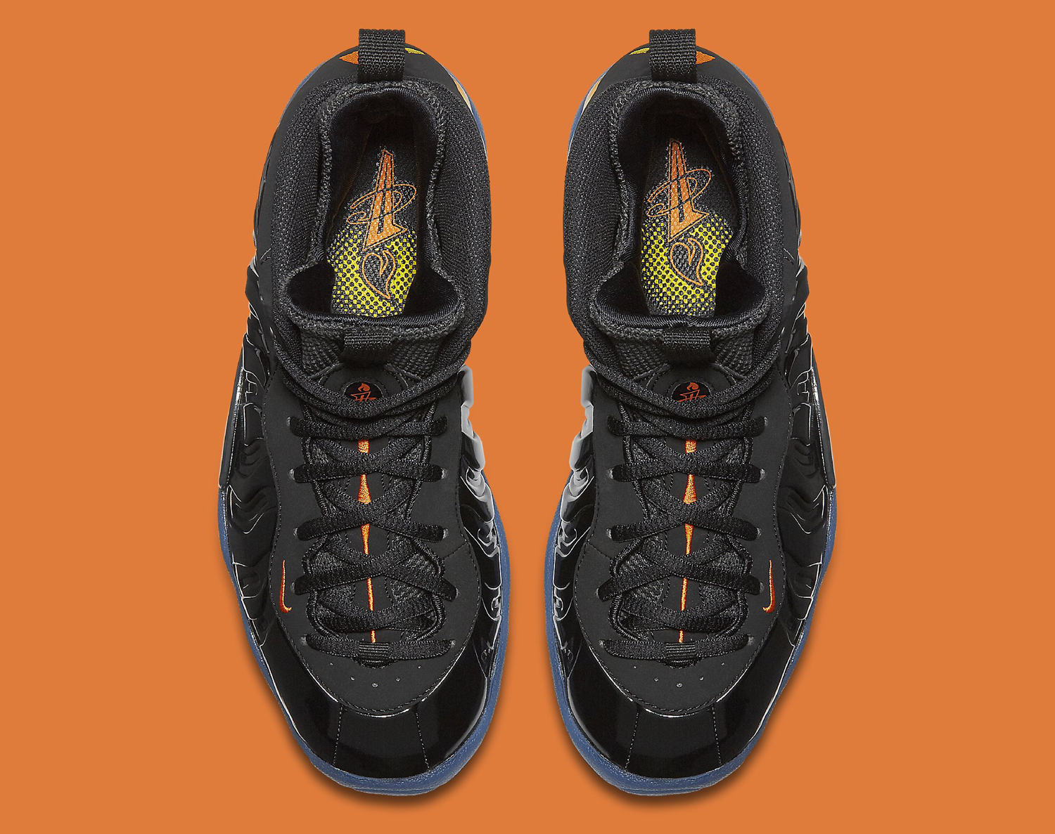 Halloween Nike Foamposite 846077-002 Top