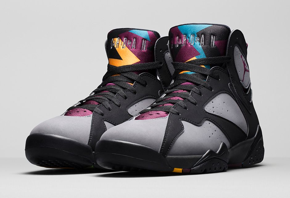 online store 87fcc 518bf See How 'Bordeaux' Air Jordan 7s Look On-Feet Before ...