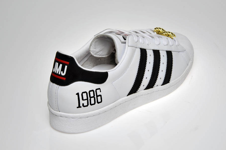 "adidas Originals Superstar 80s - Run DMC ""My adidas"" 25th Anniversary 30"