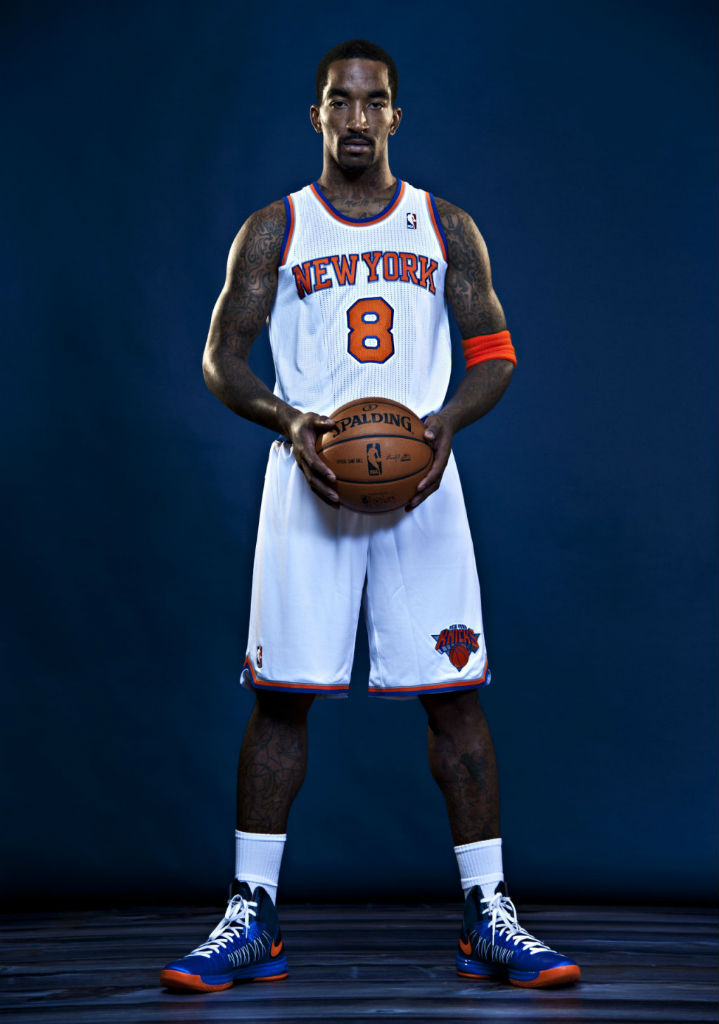 J.R. Smith wearing Nike Lunar Hyperdunk 2012 iD