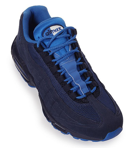 nike air max 95 midnight navy soar blue