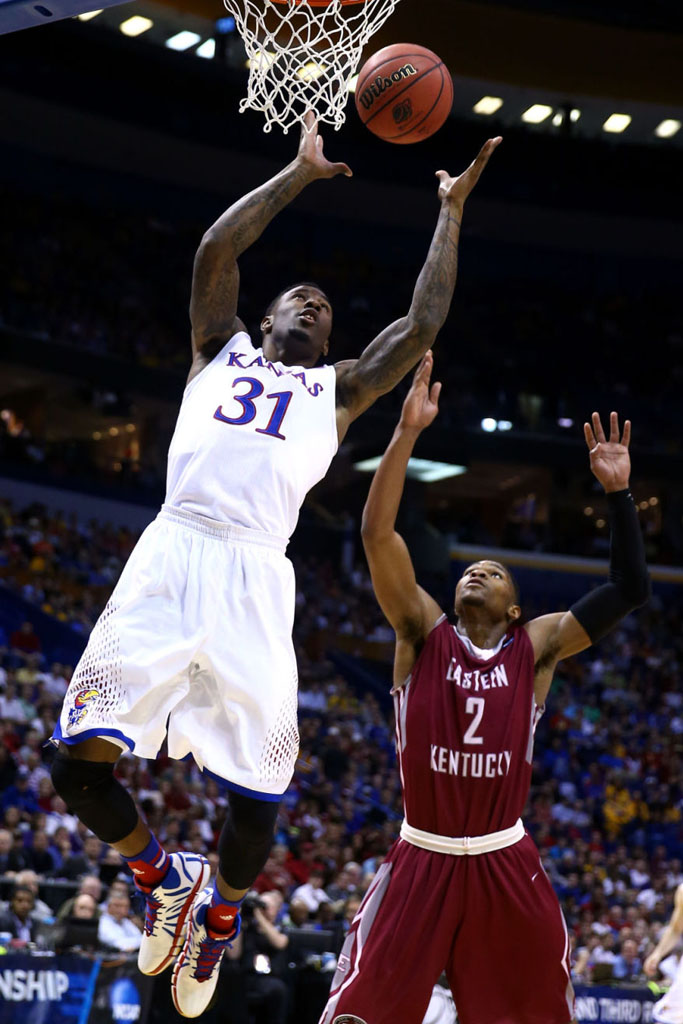Jamari Traylor wearing adidas D Rose 4.5 Draft Lotto