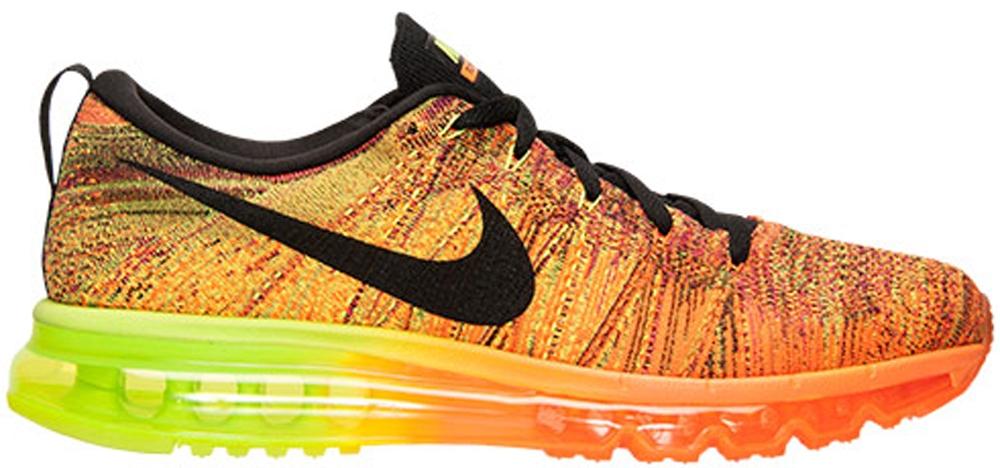 Nike Flyknit Max Total Orange/Black-Volt-Fireberry