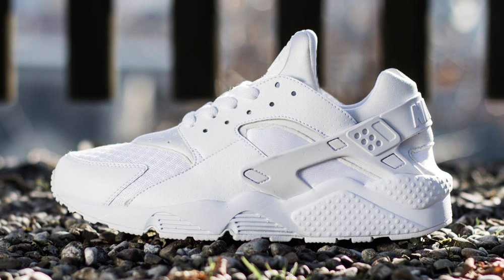 nike huarache for men white