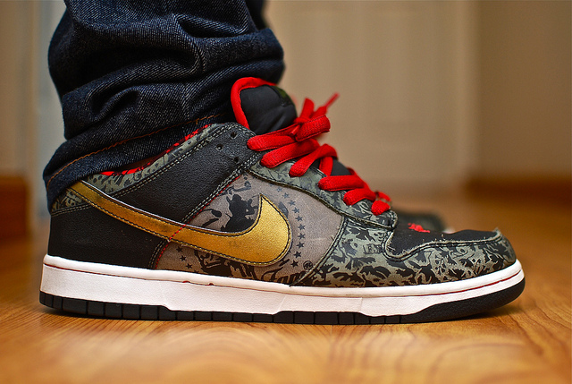 the best attitude e3486 db8c4 ILikeSBs in the SBTG x Nike SB Dunk Low.