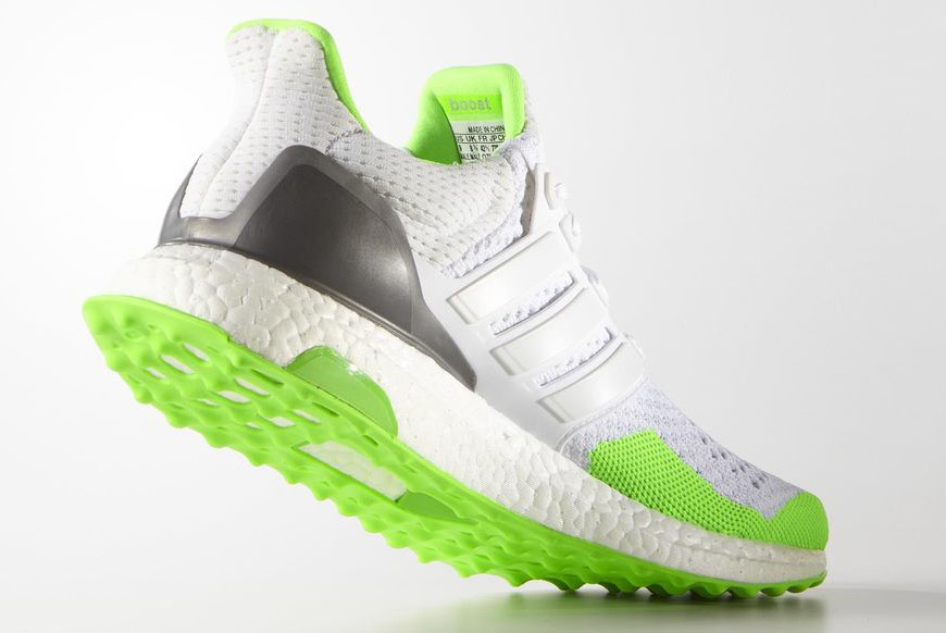 Kolor adidas Ultra Boost White Solar Green (5)