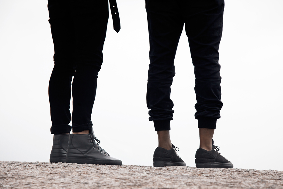 Filling Pieces AW 13 black mountain cut