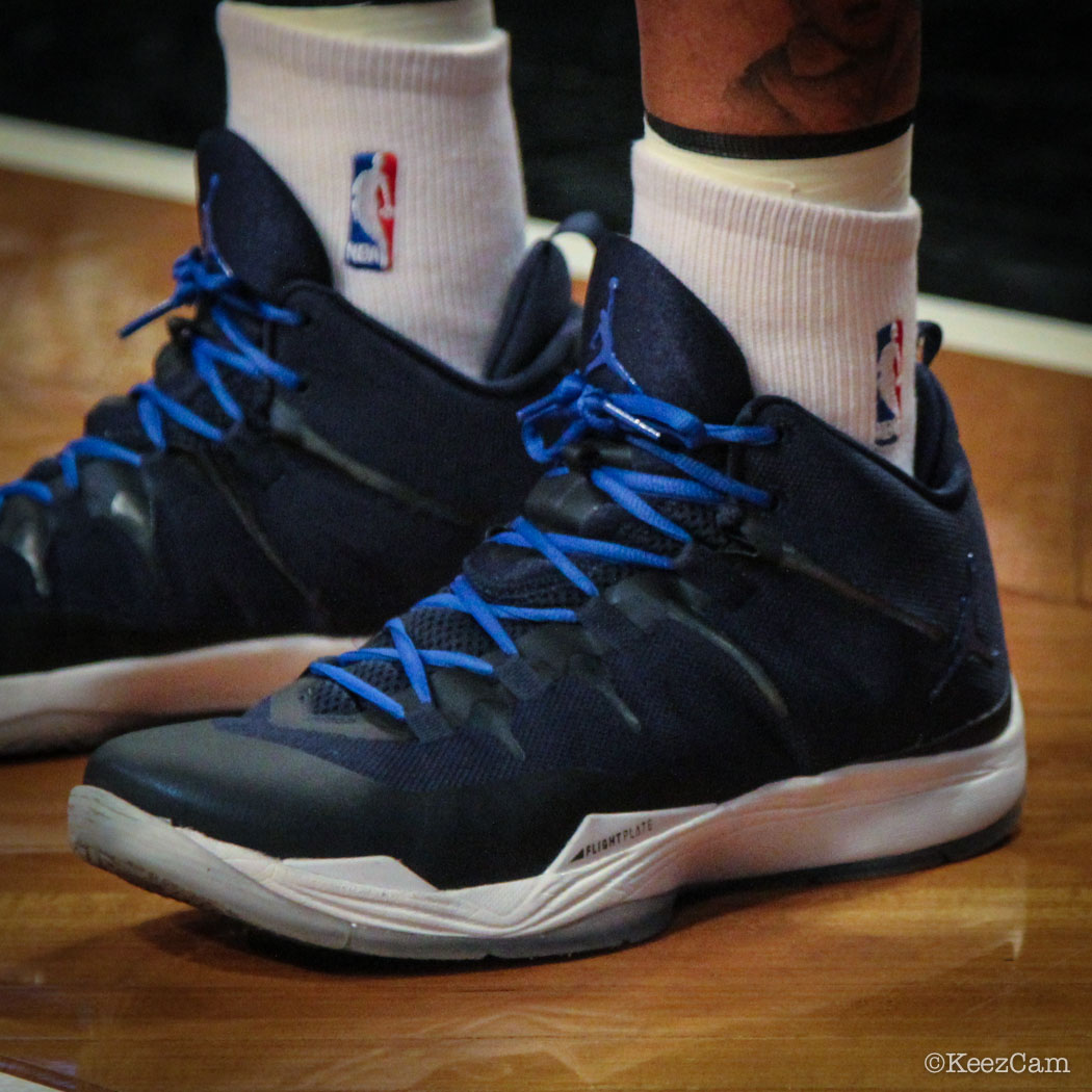 Monta Ellis wearing Jordan Super.Fly 2 PE