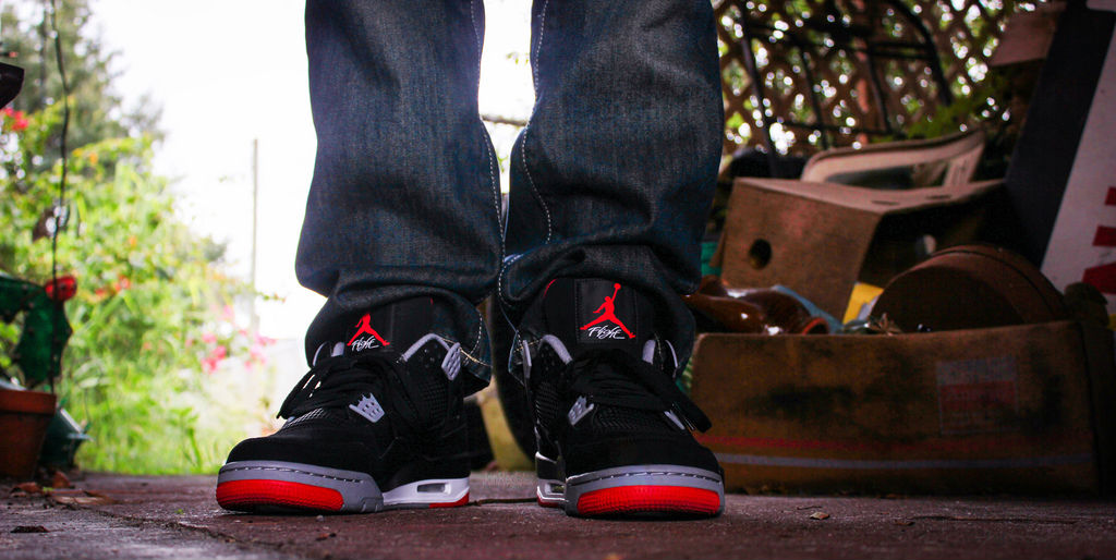 Spotlight // Forum Staff Weekly WDYWT? - 8.24.13 - Air Jordan IV 4 Retro Black/Cement by JonRegister