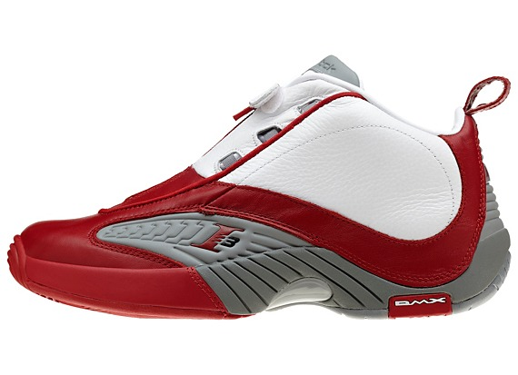 Red Allen Iverson Shoes