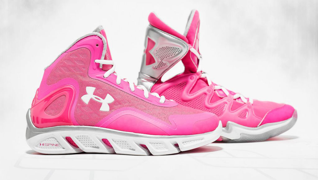 Under Armour Spine Bionic & Charge BB - Breast Cancer Awareness (1)