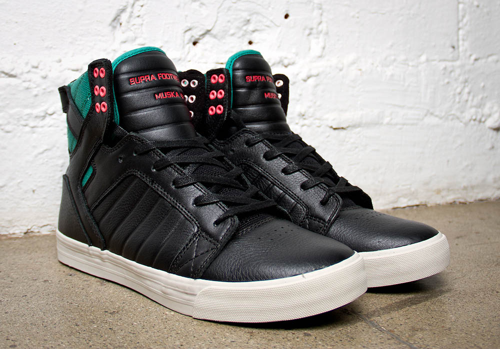 "SUPRA Footwear - ""Miami Black"" Skytop"