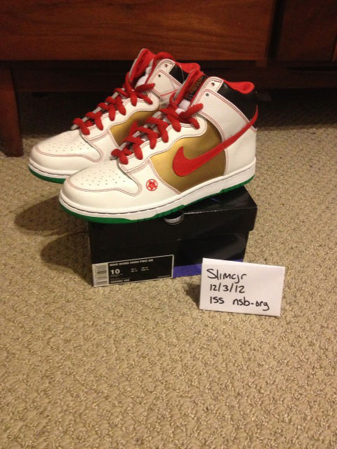 Spotlight // Pickups of the Week 12.8.12 - Nike SB Dunk High Pro Money Cat by Slimcjr