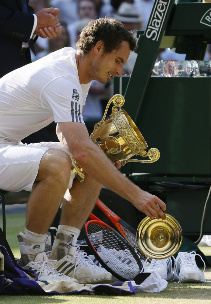 Andy Murray Wins Wimbledon In The adidas Barricade 7.0 (8)