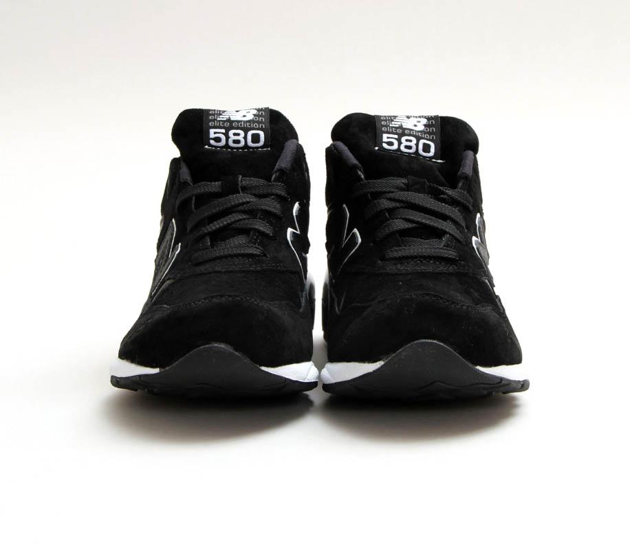 new balance 580 black white