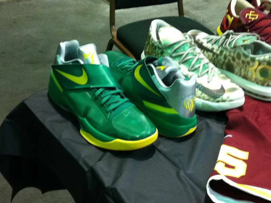 Randy Williams Displays Rare Nike KD Shoes (13)