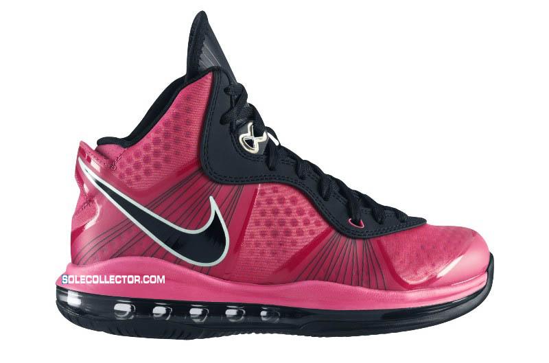 826c6281b6c7 Nike Air Max LeBron 8 V 2 GS Spark Black Metallic Silver 431888-601