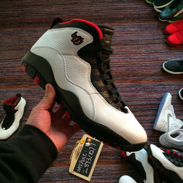 wholesale dealer f67fd 00c8f New Photos of the Remastered 'Double Nickel' Air Jordan 10 ...