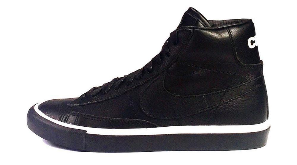 timeless design 1f032 d233a CDG Black Nike Blazer