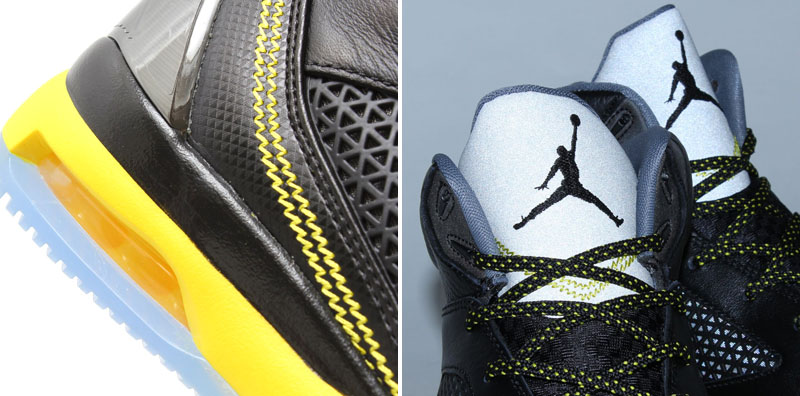 Air Jordan Flight Remix Black/Vibrant Yellow-Cool Grey Release Date 679680-070 (7)