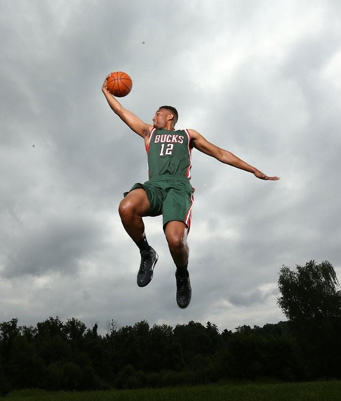 Sole Watch: 2014 NBA Rookie Photo Shoot | Sole Collector Jabari Parker Jordans