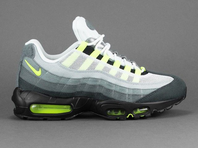 The Nike Air Max 95 Dons The Triple White Color Scheme