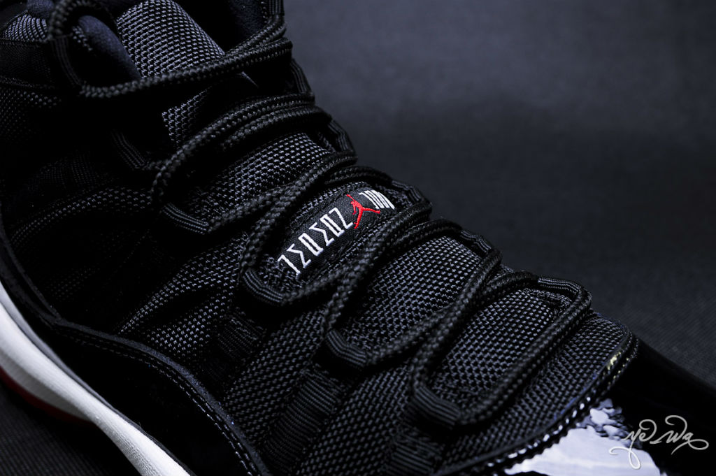 Air Jordan XI 11 Black Red 378037-010 (14)