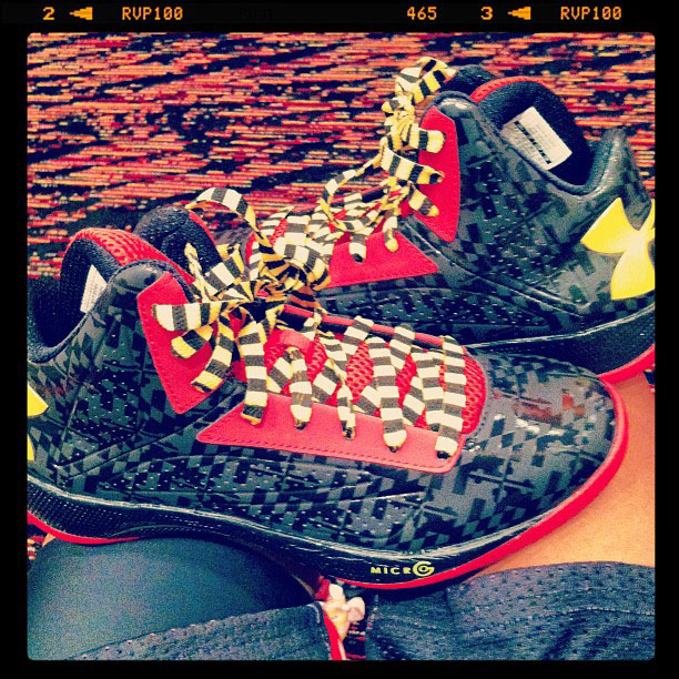Under Armour Micro G Torch Maryland Terrapins (2)