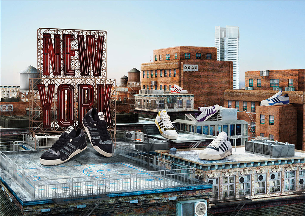 adidas Originals NY Rivalry Lo - SoHo 10th Anniversary Collection