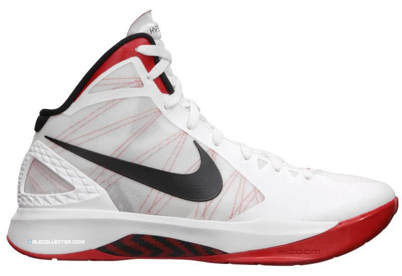 ee2ed062a141 Nike Zoom Hyperdunk 2011 White Black Sport Red 454138-100