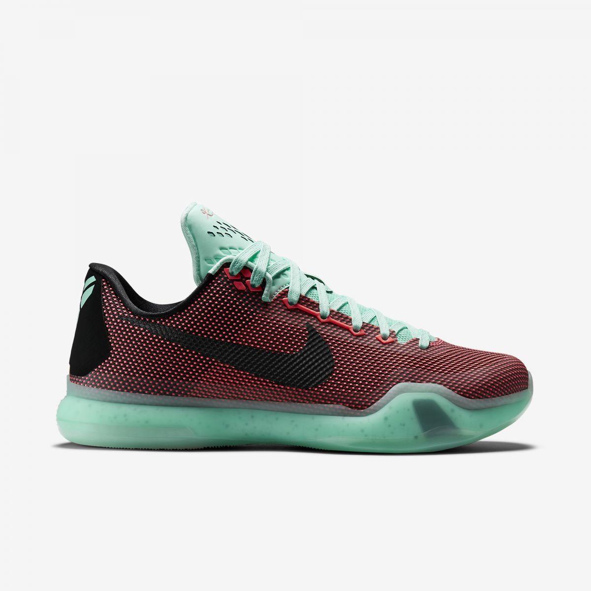 Nike Kobe 10 Easter Hot Lava Black Sunset Glow