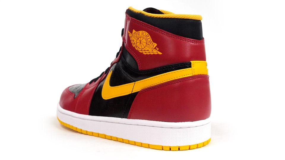 air jordan retro 1 red yellow