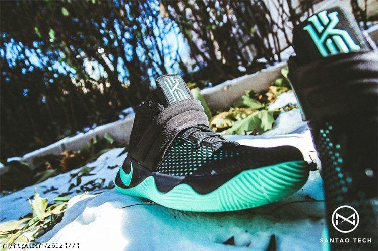 on sale 1f3c7 2e878 Nike Kyrie 2 Green Glow (1)